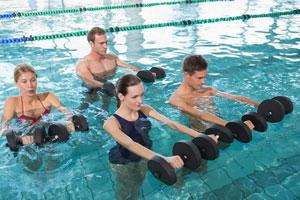 Abnehmen mit Aquafitness